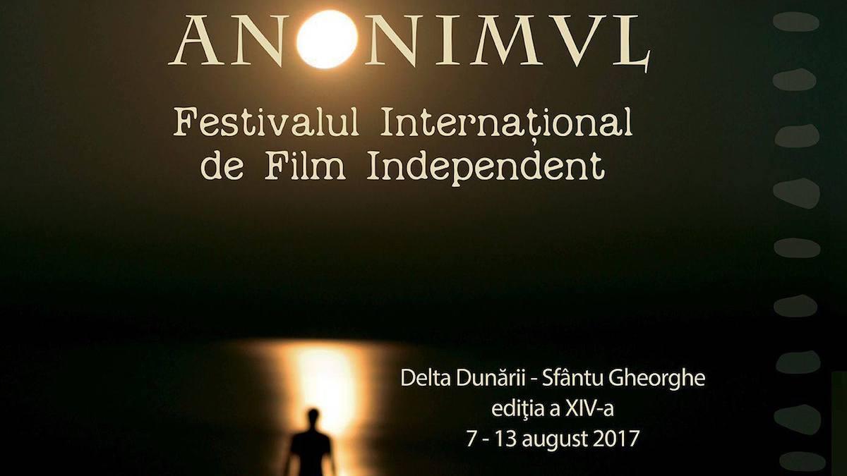 """Afișului ediției din 2017 a Festivalului de Film """"Anonimul"""""""