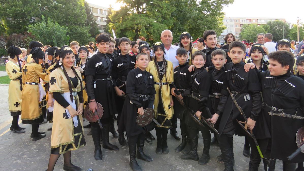 Horia Teodorescu, Președintele Consiliului Județean Tulcea la deschiderea Festivalului. FOTO CJ Tulcea