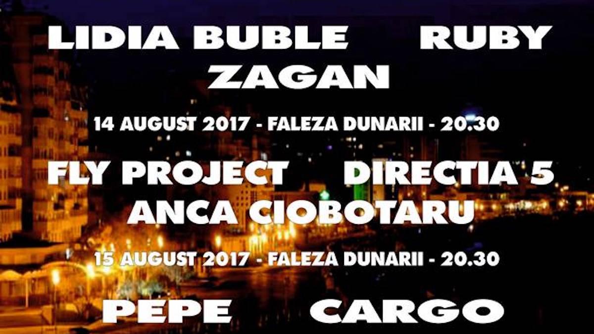 """Afișul evenimentului """"Zilele Municipiului Tulcea 2017"""""""
