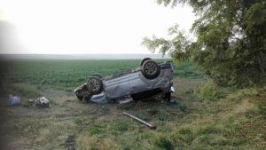 În urma accidentului au rezultat 3 victime. FOTO SAJ Tulcea