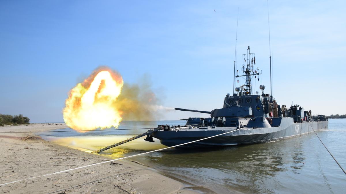 Exercitiu militar pe Dunare (21)