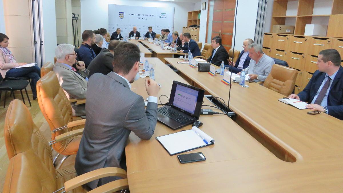 Sedinta Consiliu Județean Tulcea
