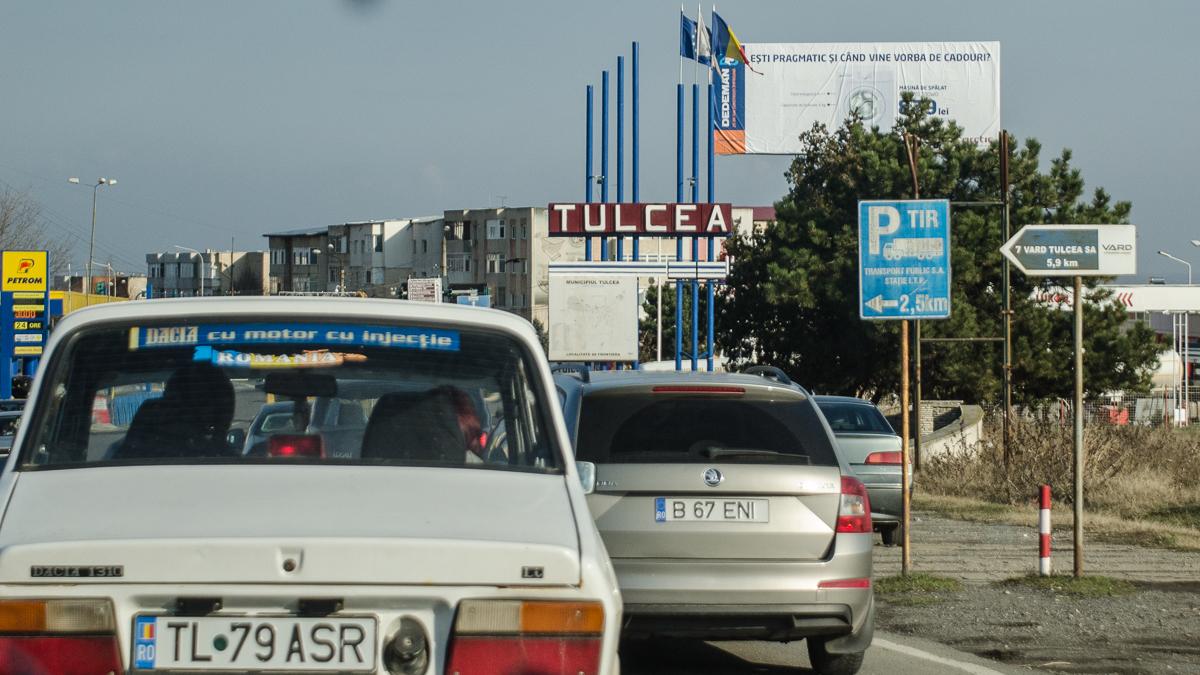 Tulcea trafic rutier masini (3)