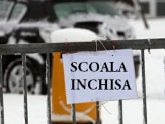 Școală închisă din cauza vremii. FOTO ISJ Tulcea