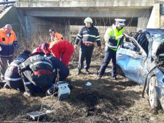 Accident grav la Cataloi. FOTO ISU Delta