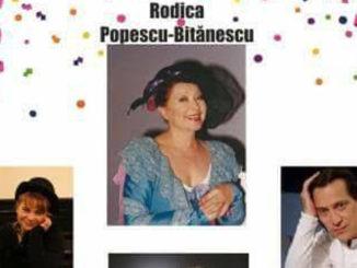 """Afișul piesei """"Chirița în Carnaval"""" la Teatrul Jean Bart din Tulcea"""