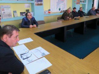 Întâlnirea pescarilor din Sf. Gheorghe cu conducerea ARBDD. FOTO ARBDD