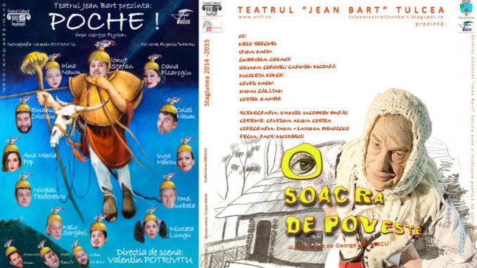 """Poche și """"O soacra de poveste"""", pe scena teatrului Jean Bart din Tulcea"""