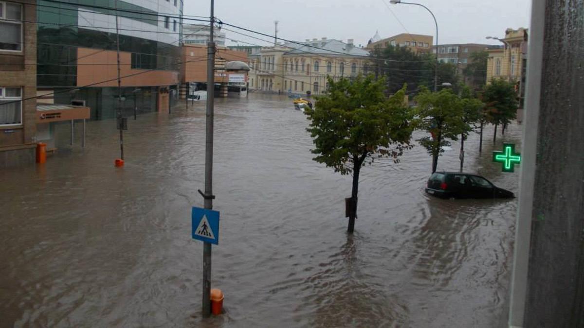 inundatie tulcea